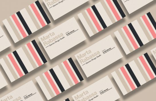 3Design Marta Rabassa business card