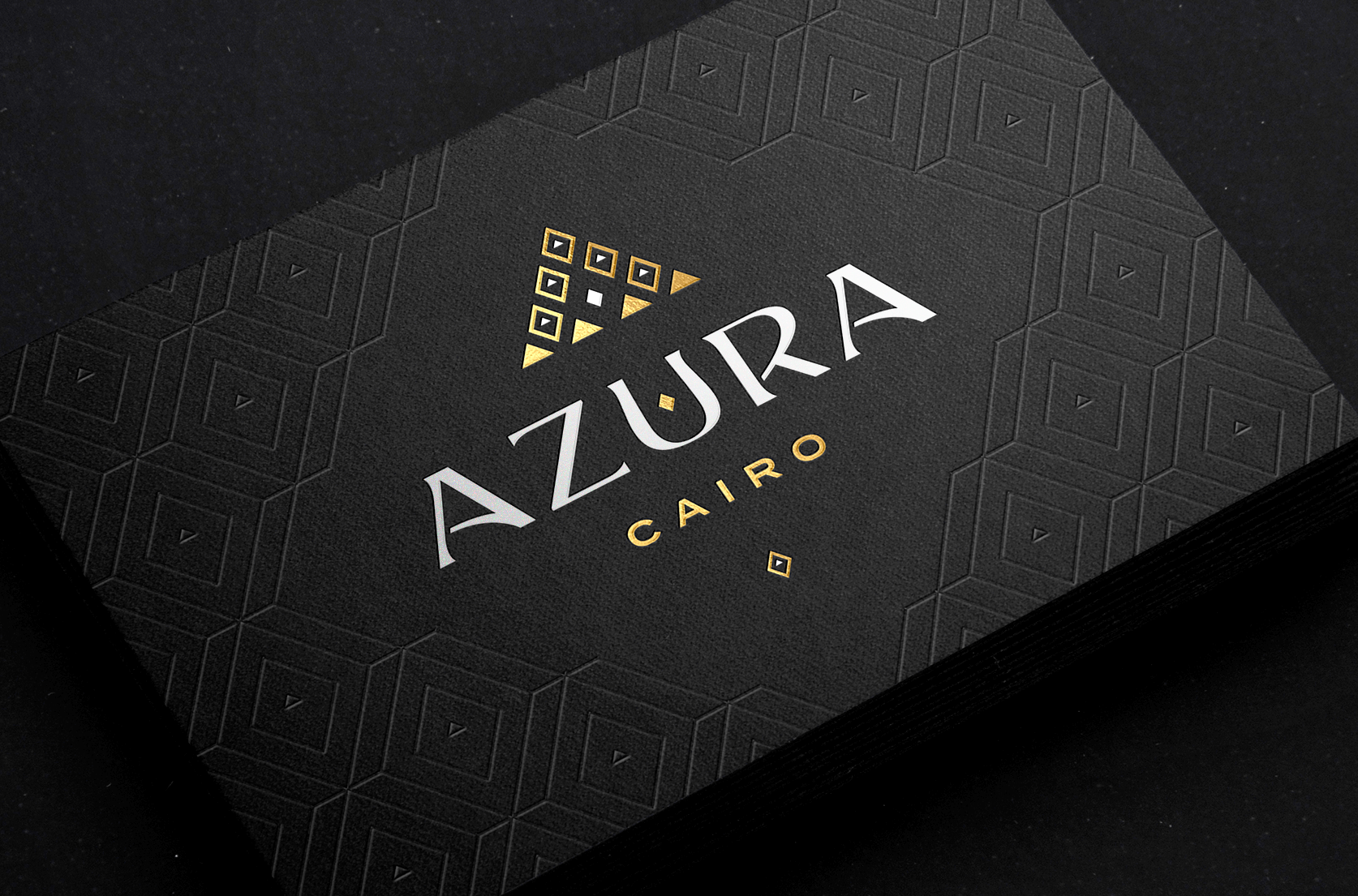 Azura Cairo business card