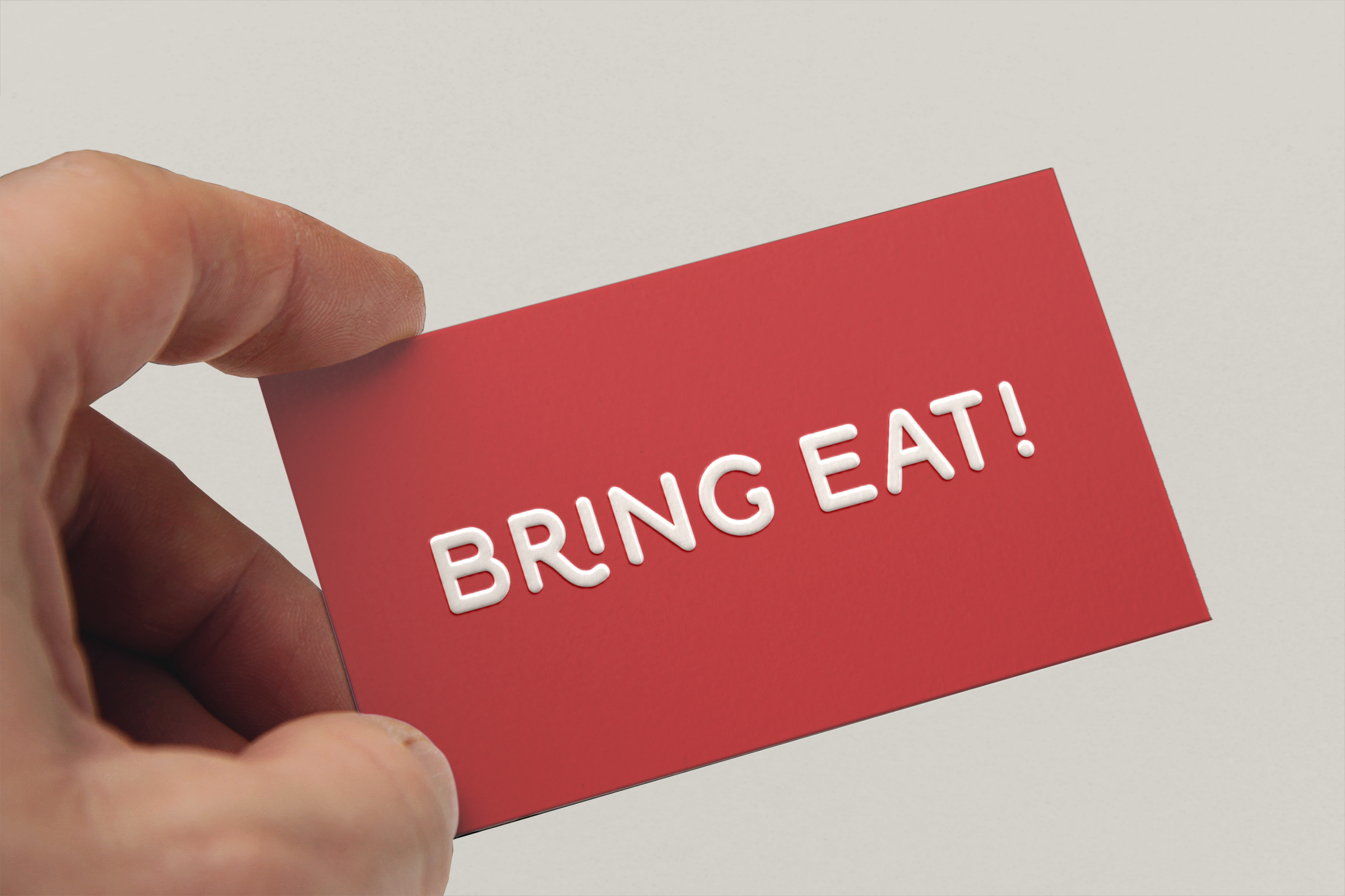 Bring Eat business_card