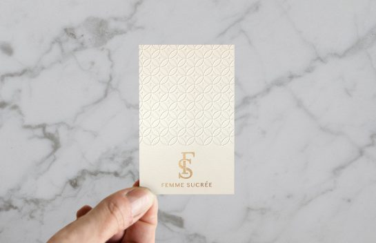 Femme Sucree business card