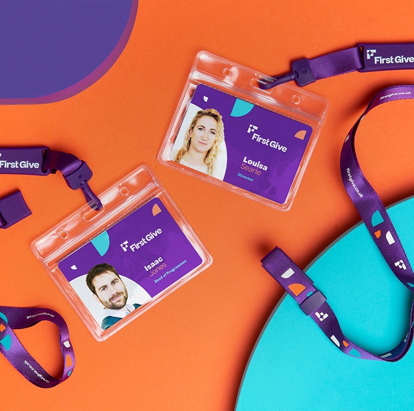 First Give branding