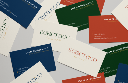 Eclecttico business card