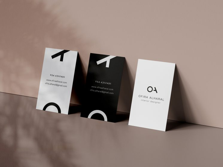 Ofra Alharal business card
