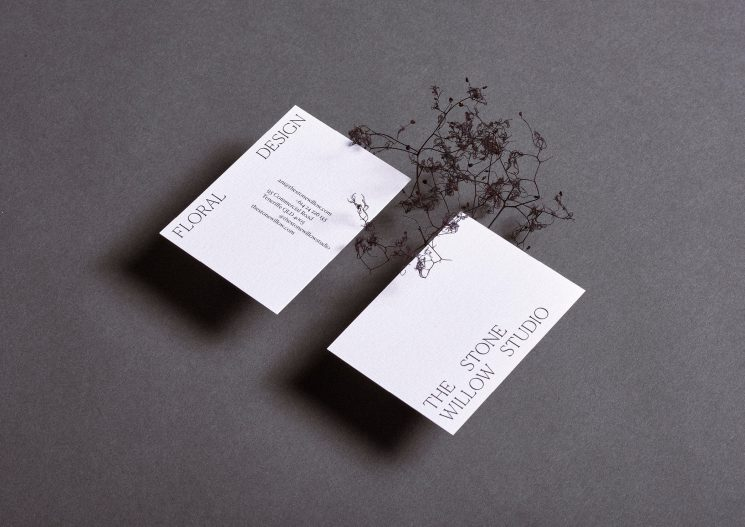 Stone Willow Studio business card