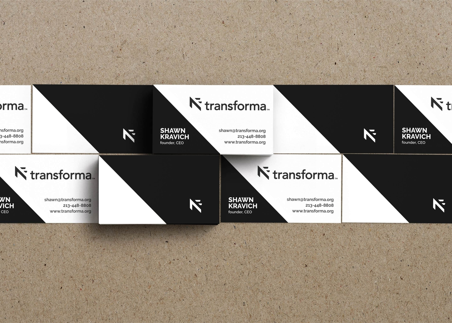Transforma business cards