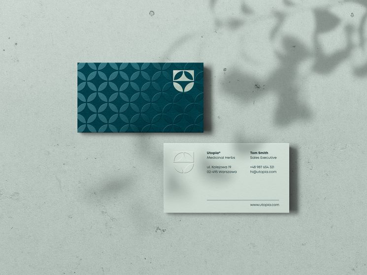 Utopia business card