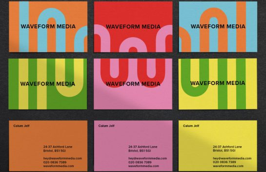 Waveform Business Cards