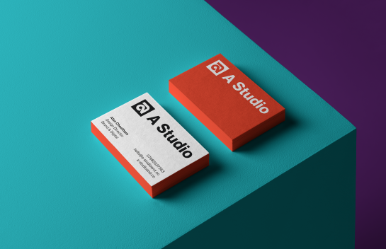 A Studio Business card