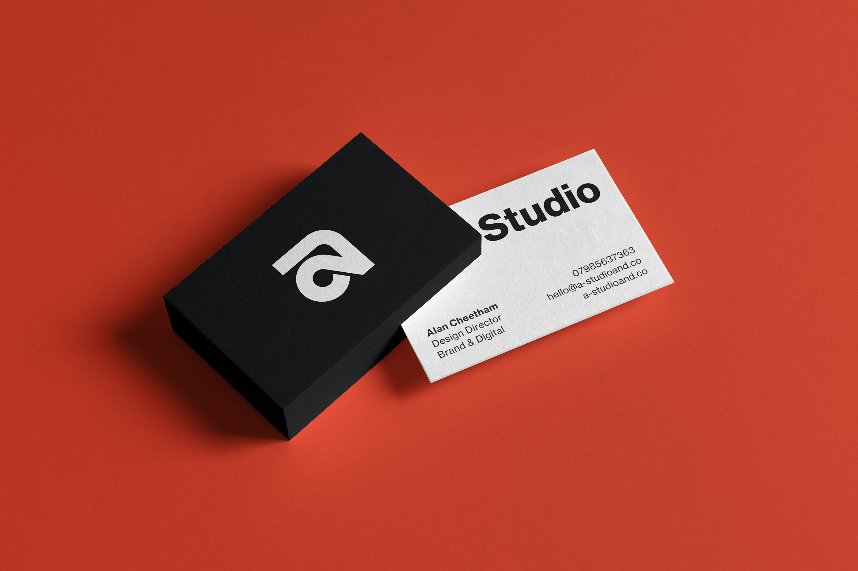 A Studio Business card_red bk
