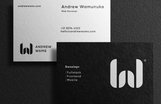 Andrew Wams business card