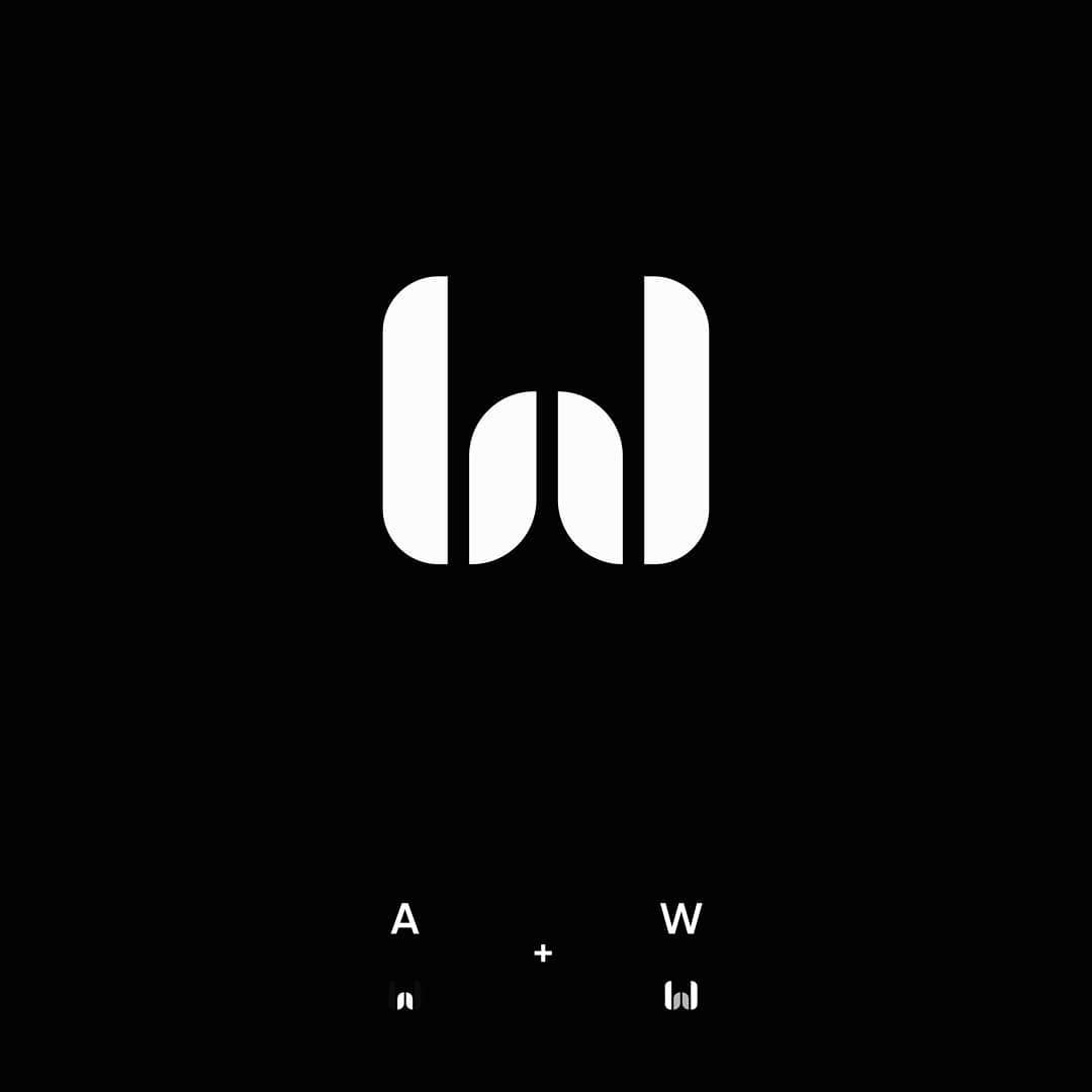 Andrew Wams logo construction