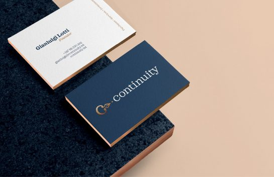 Continuity business card