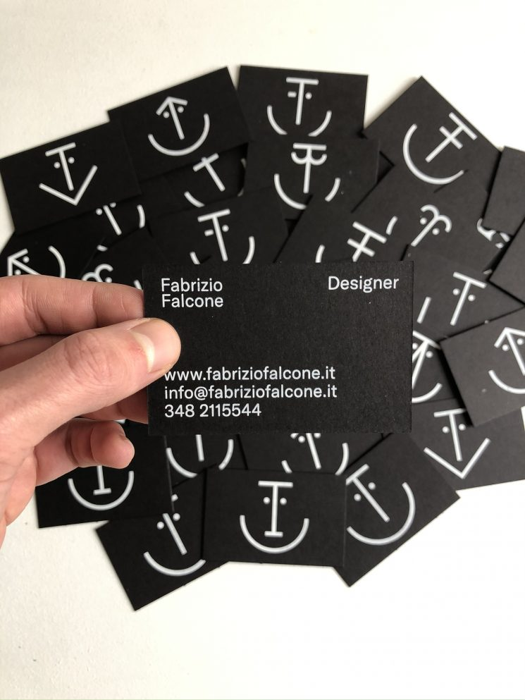 Fabrizio Falcone business card