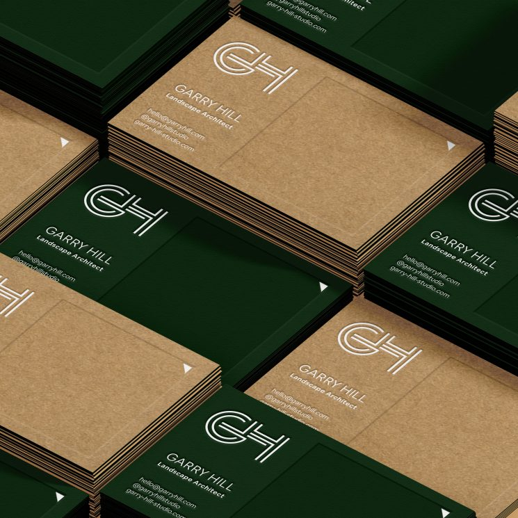 Gary Hill business cards