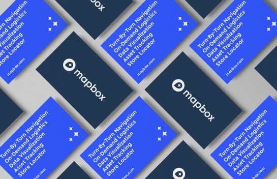 Mapbox business card
