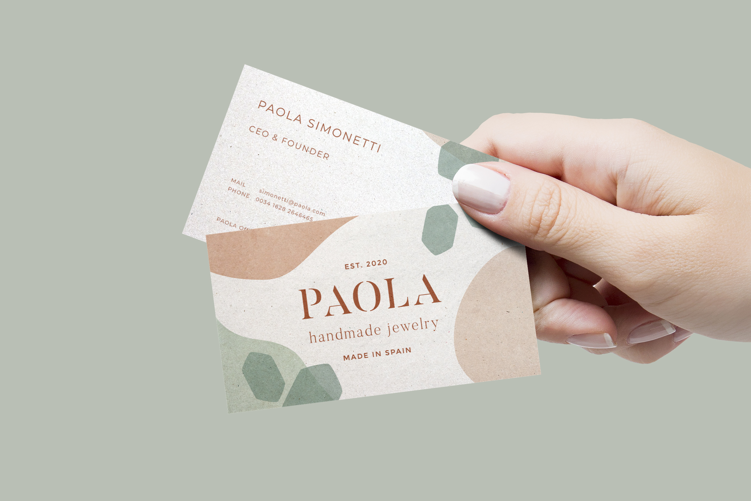 Paola Business Cards
