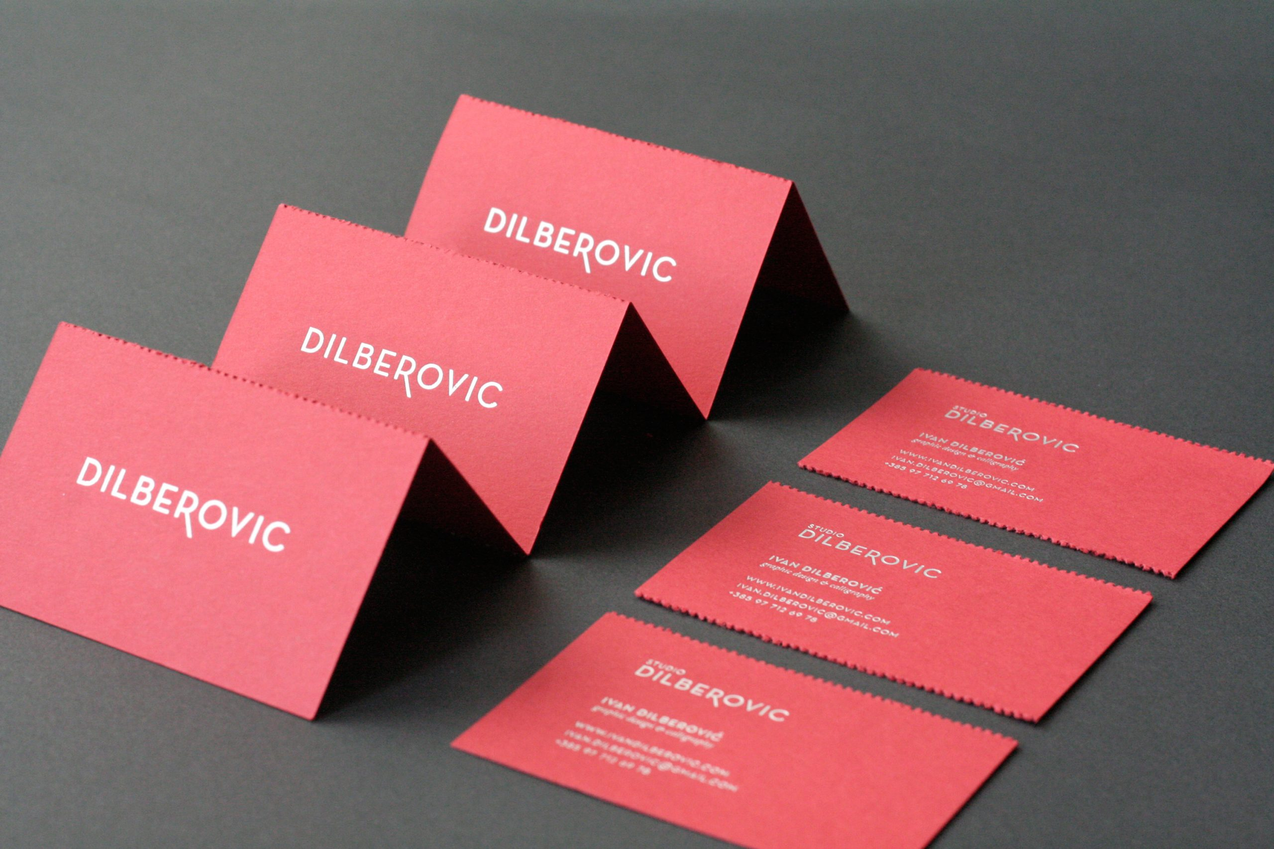 Studio Dilberovic business card