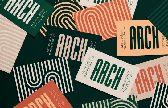 Arch Cafe Business Cards