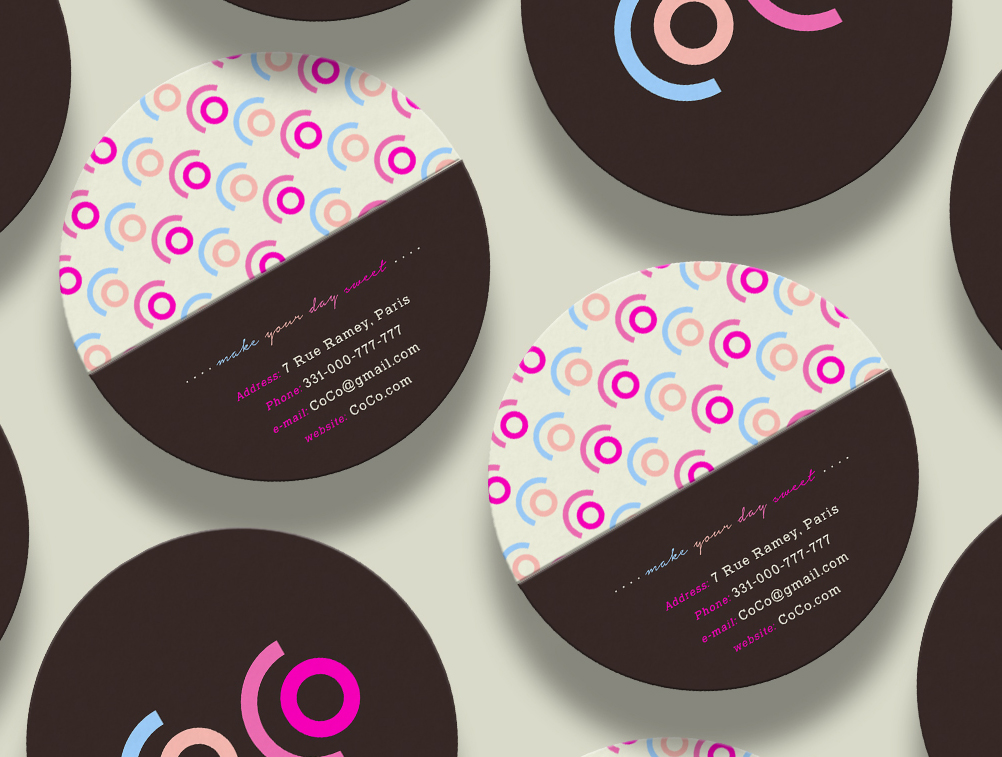 CoCo business cards_front