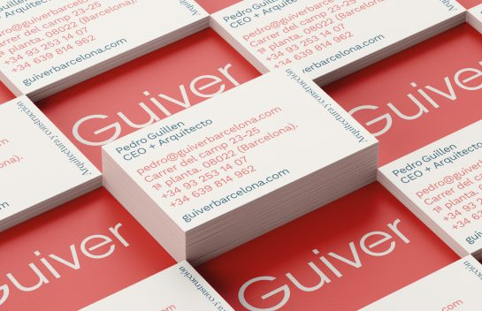 Guiver business card