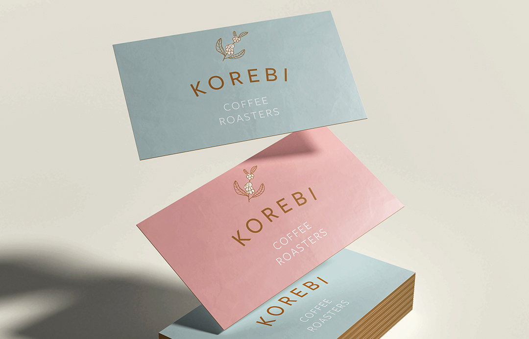 Korebi Coffee Roasters business card