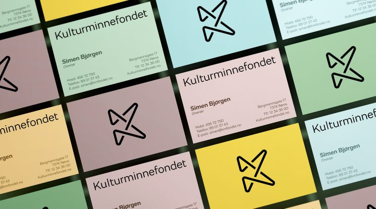 Kulturminnefondet business card