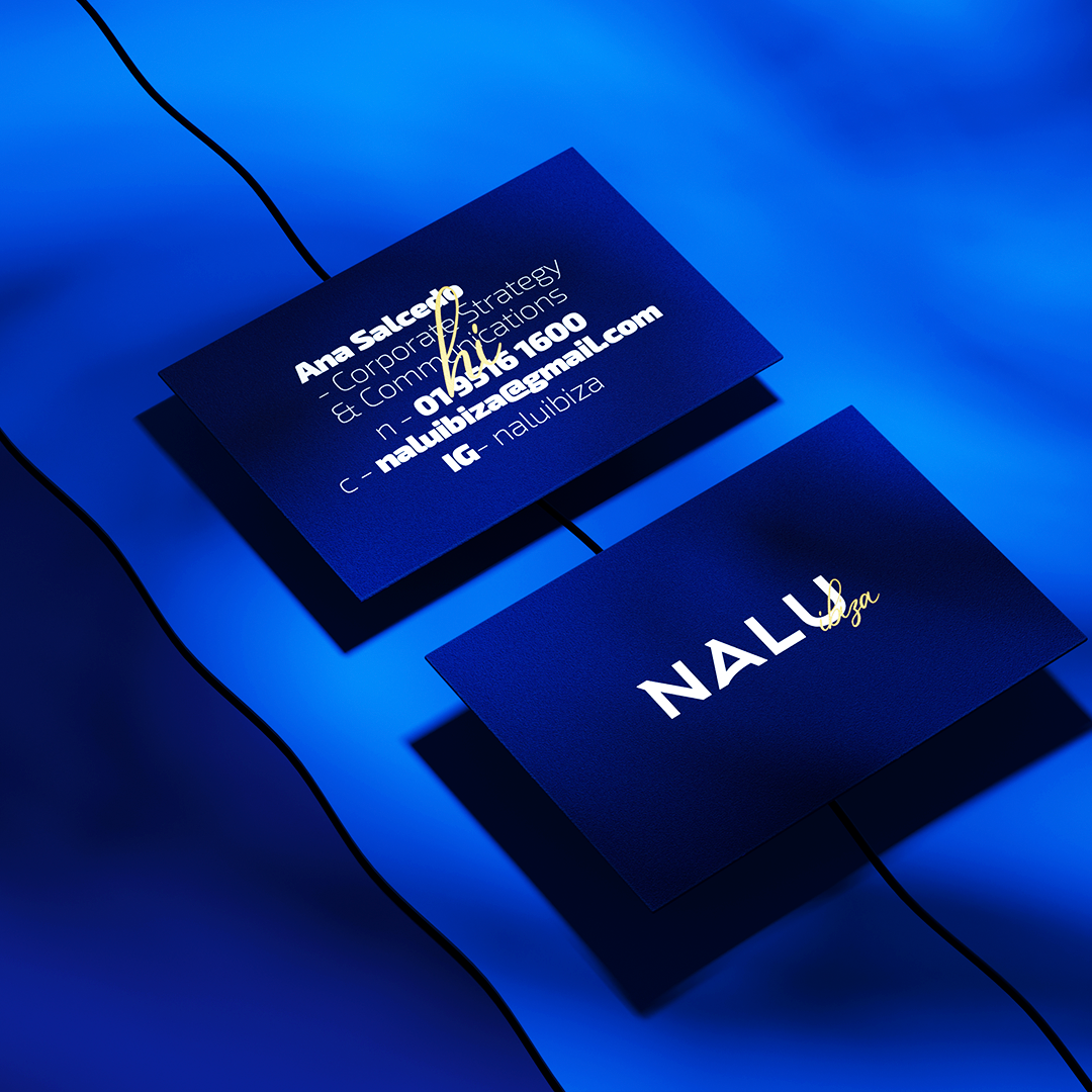 NALU business card