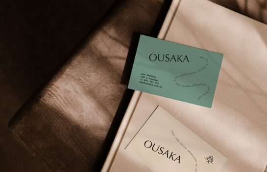 Ousaka business cards