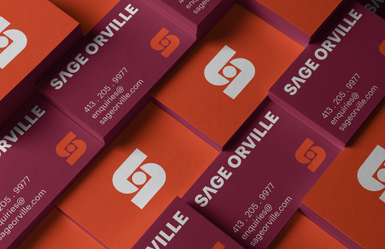 Sage Orville business cards