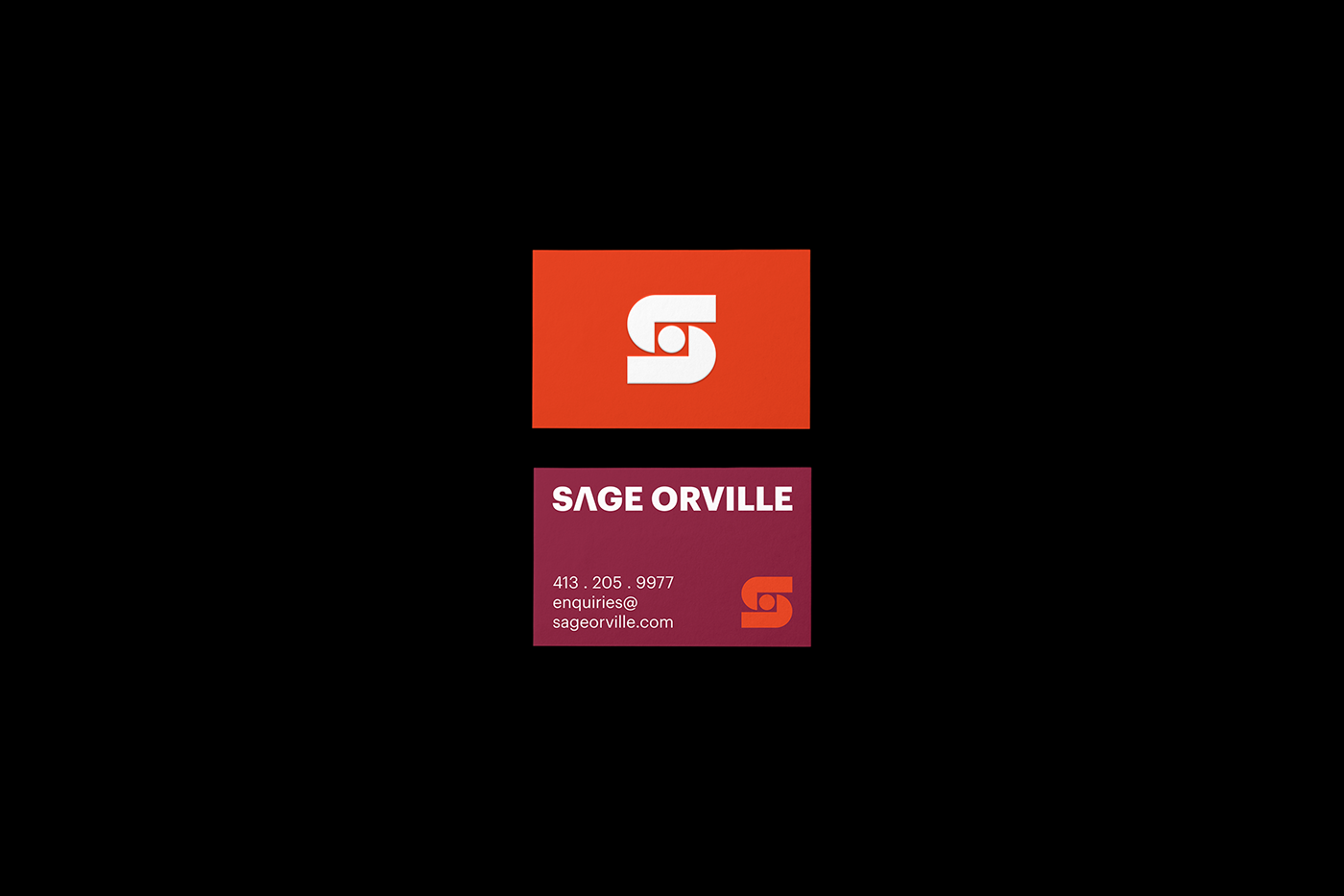 Sage Orville businesscard