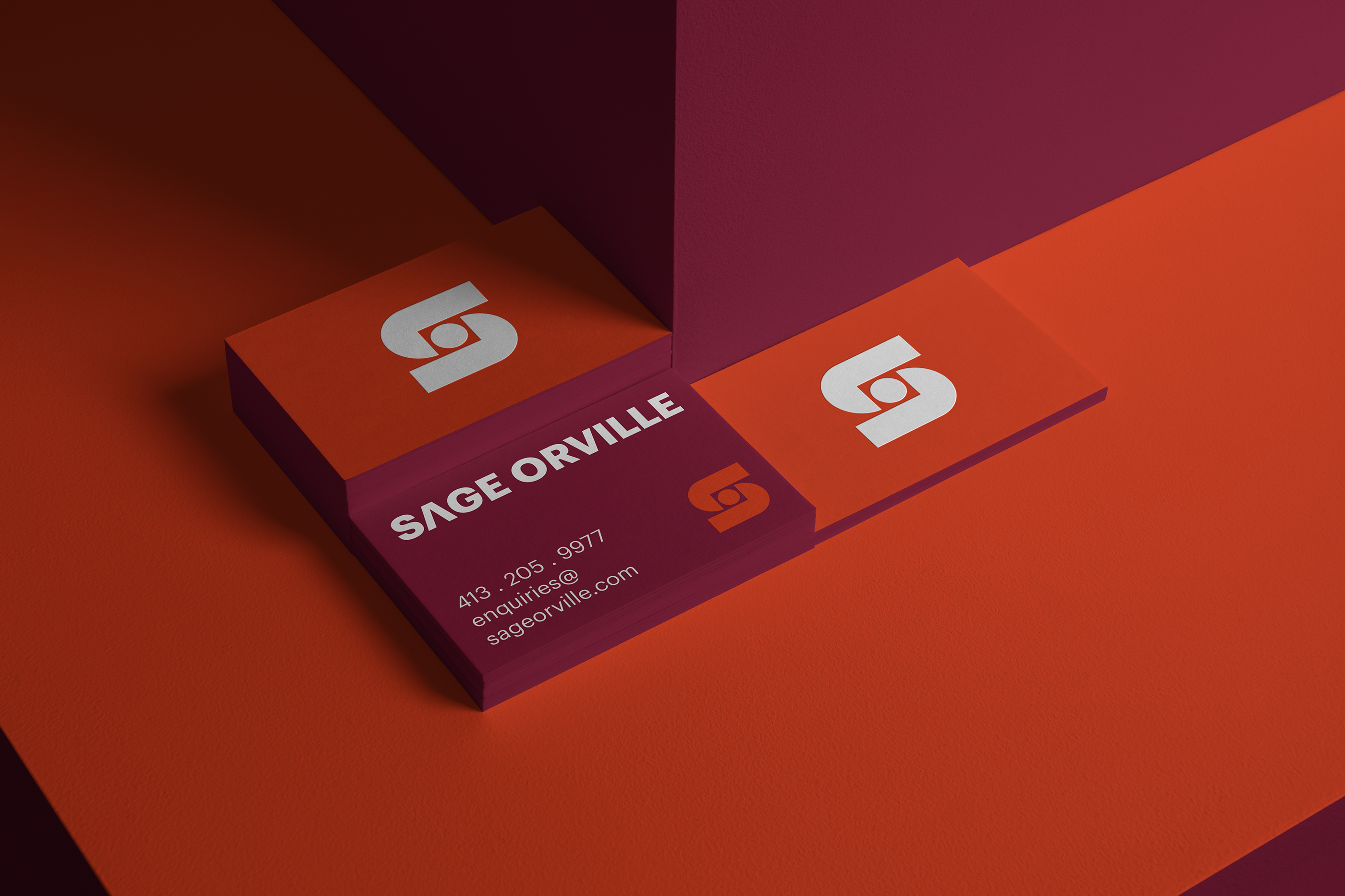 Sage Orville businesscards