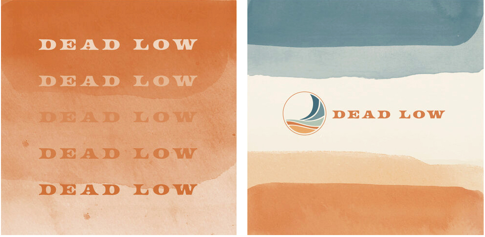 Shop Dead Low logo and typography