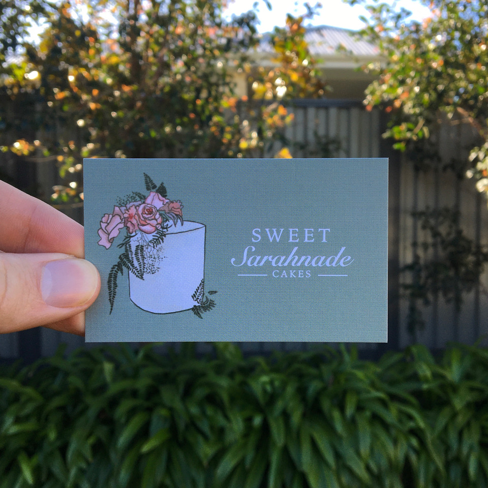 Sweet Sarahnade Cakes businesscard