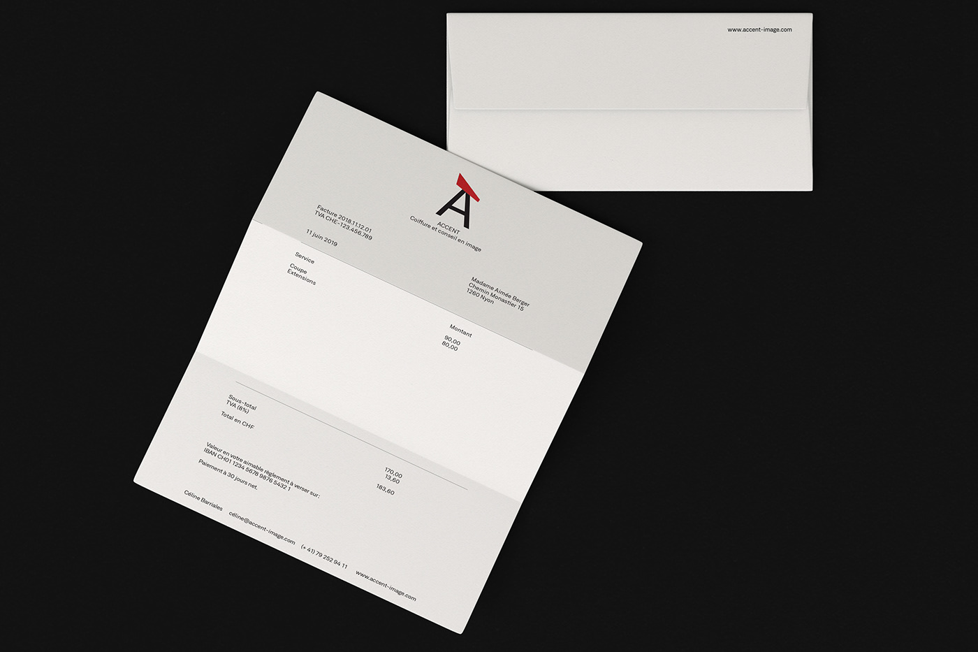 Accent stationery