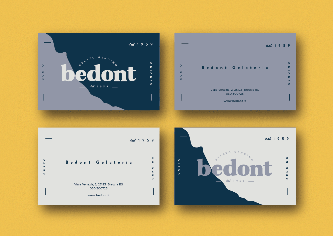 Bedont business cards