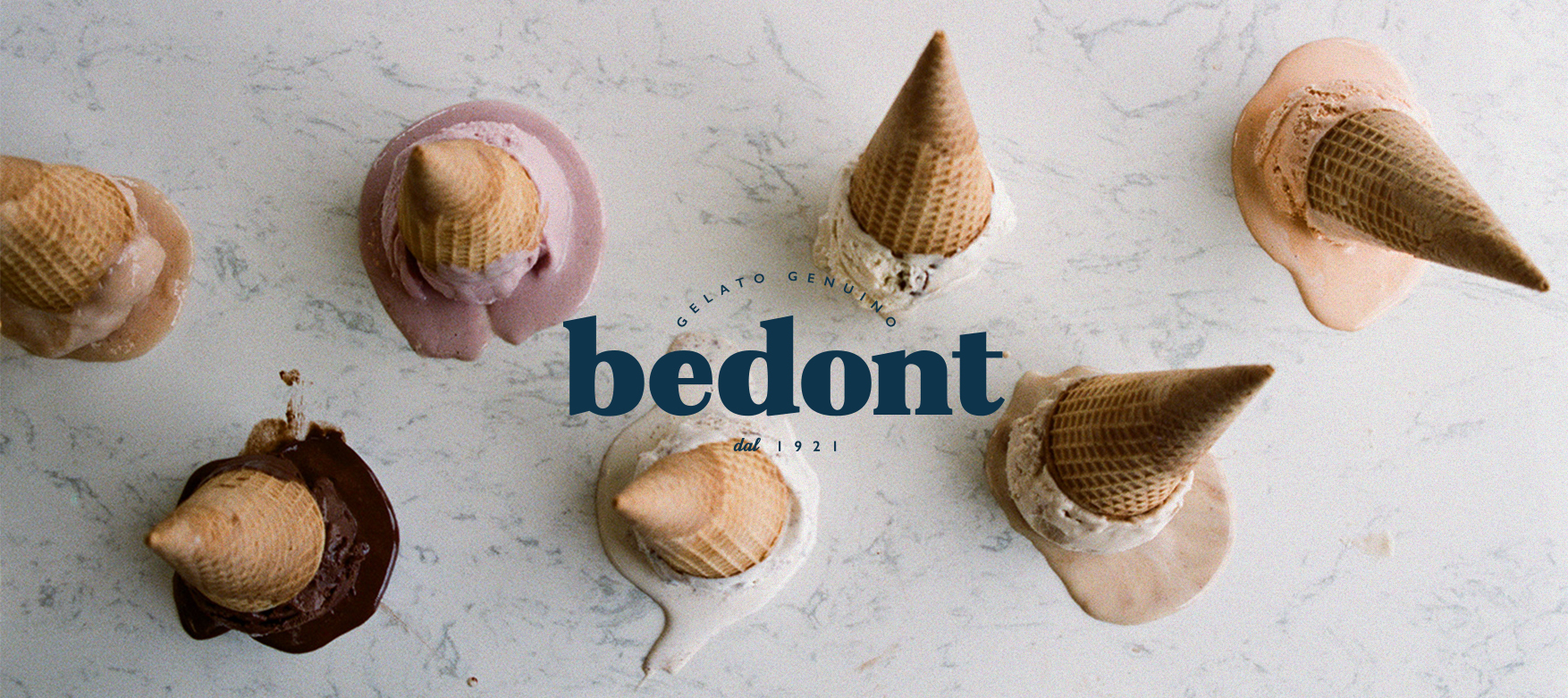 Bedont ice cream logo