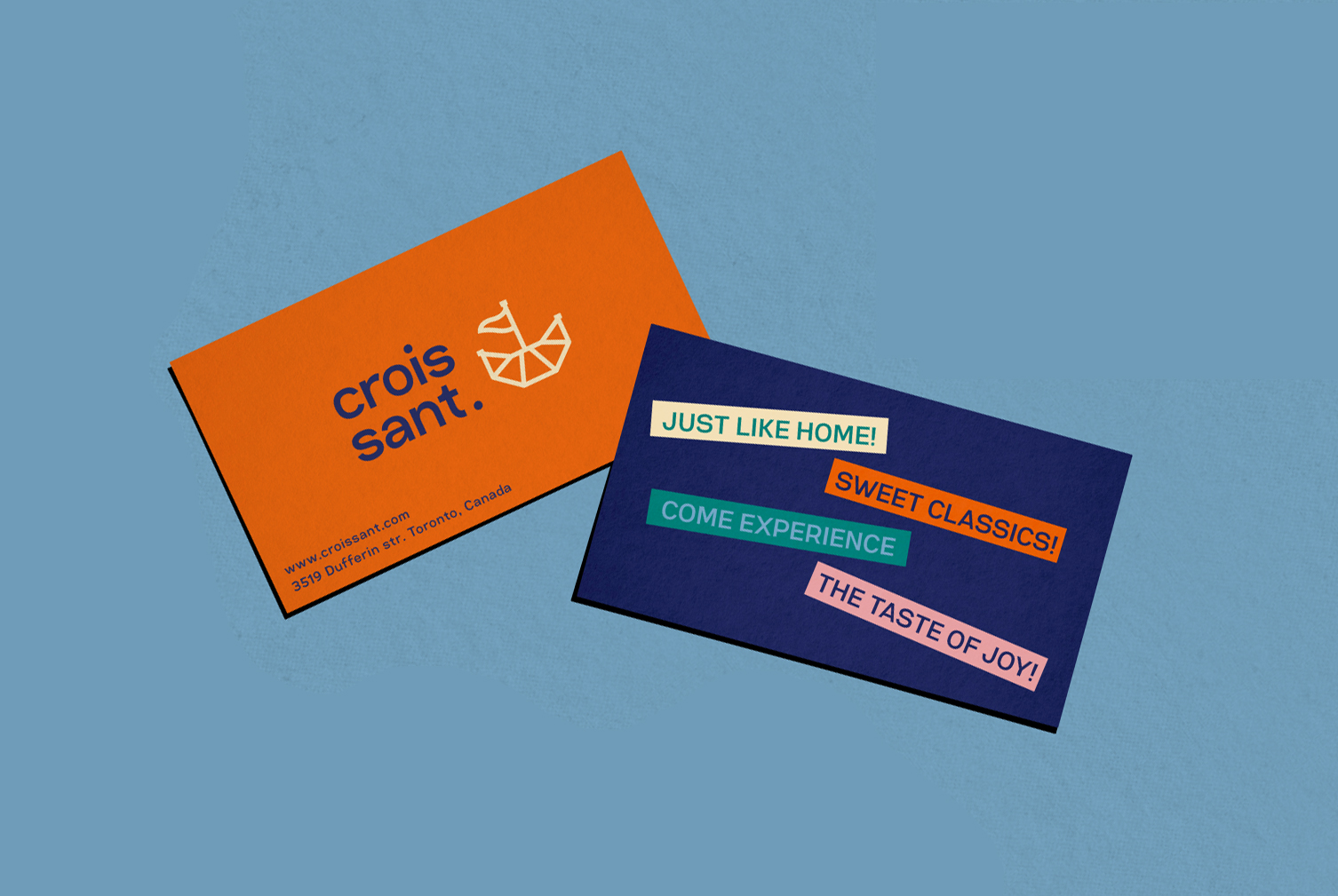 Croissant Cafe business_card