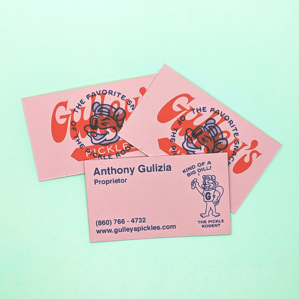 Gulleys business card