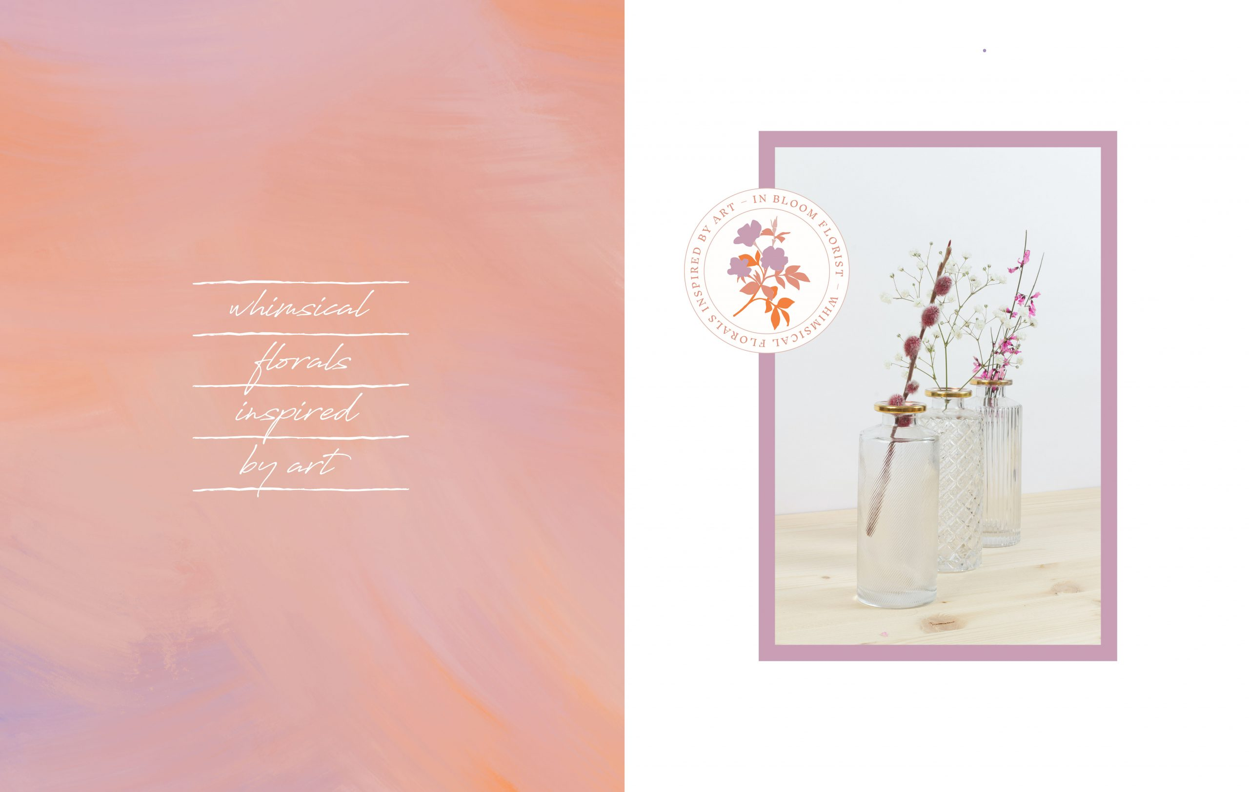 In Bloom logo and tagline