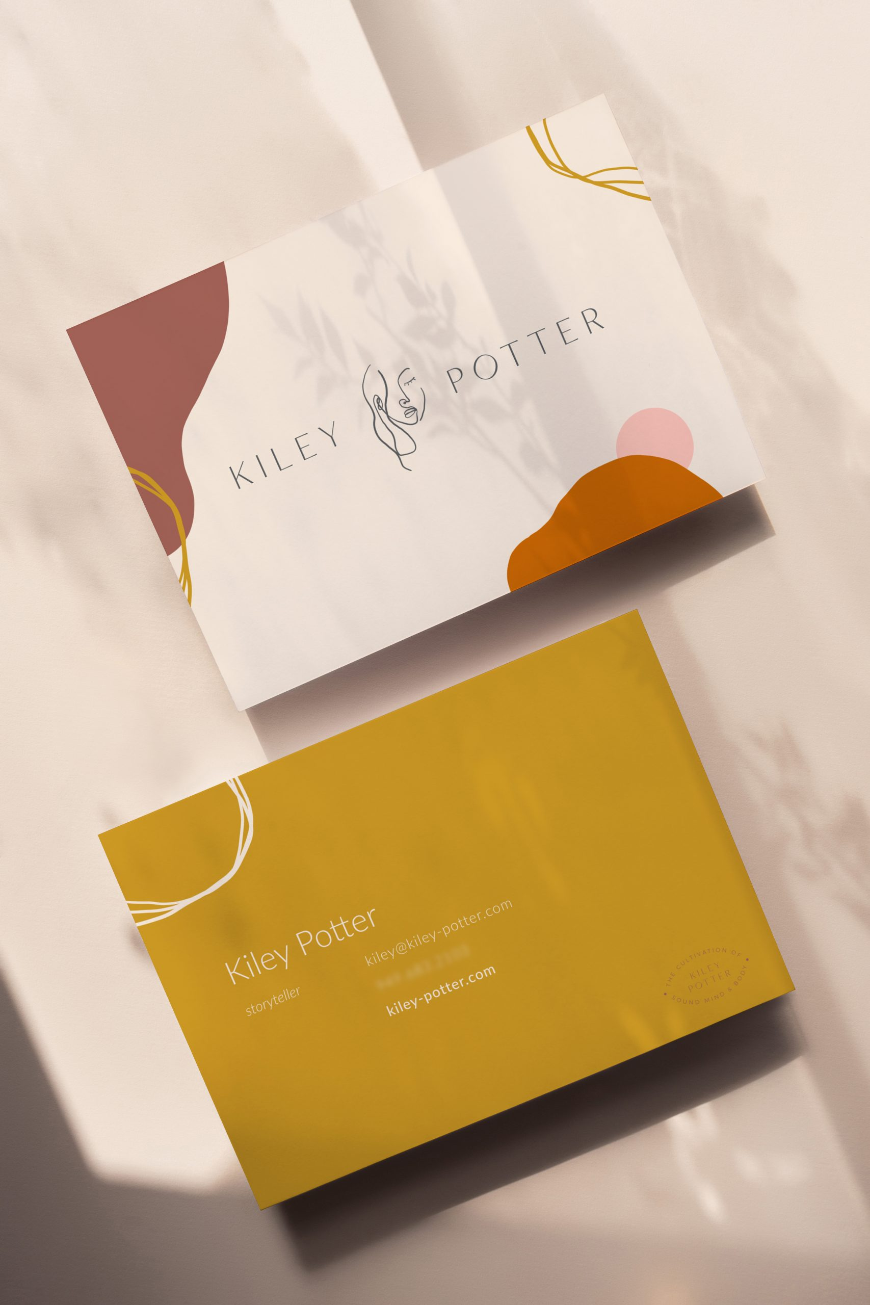 Kiley Potter business card