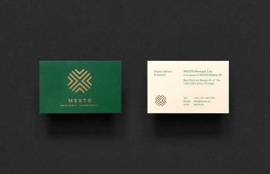 Mexto business card