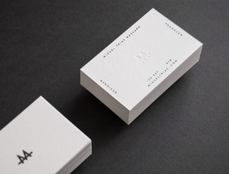 Miguel Trias business card