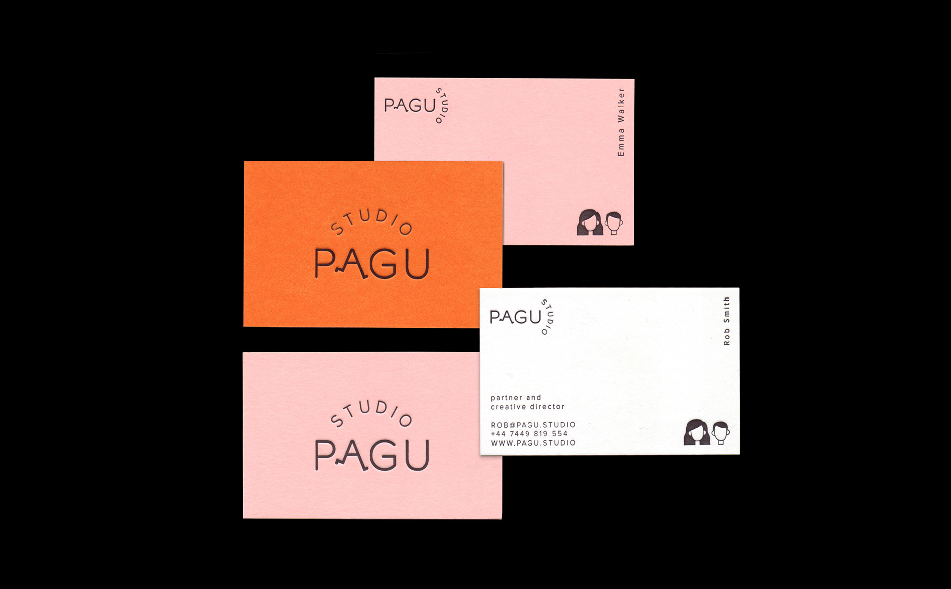 PAGU Studio business card