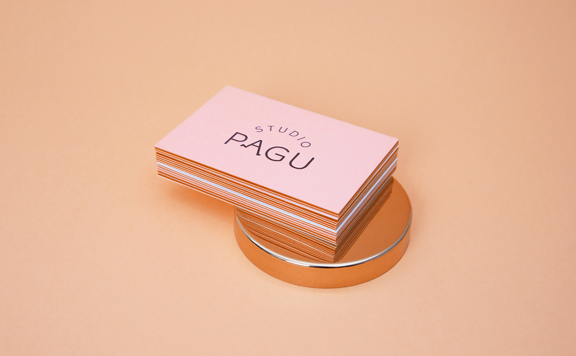 PAGU Studio business card_orange
