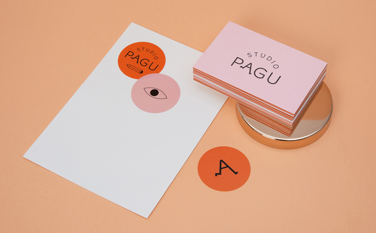 PAGU Studio stationery
