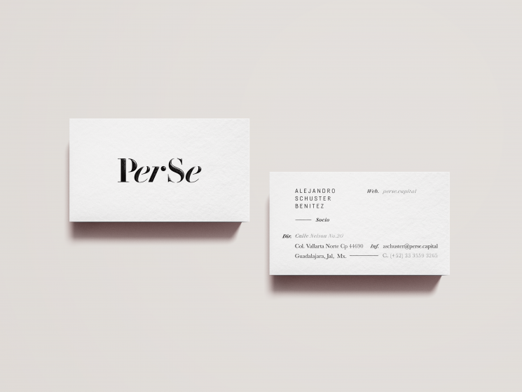 PerSe business cards