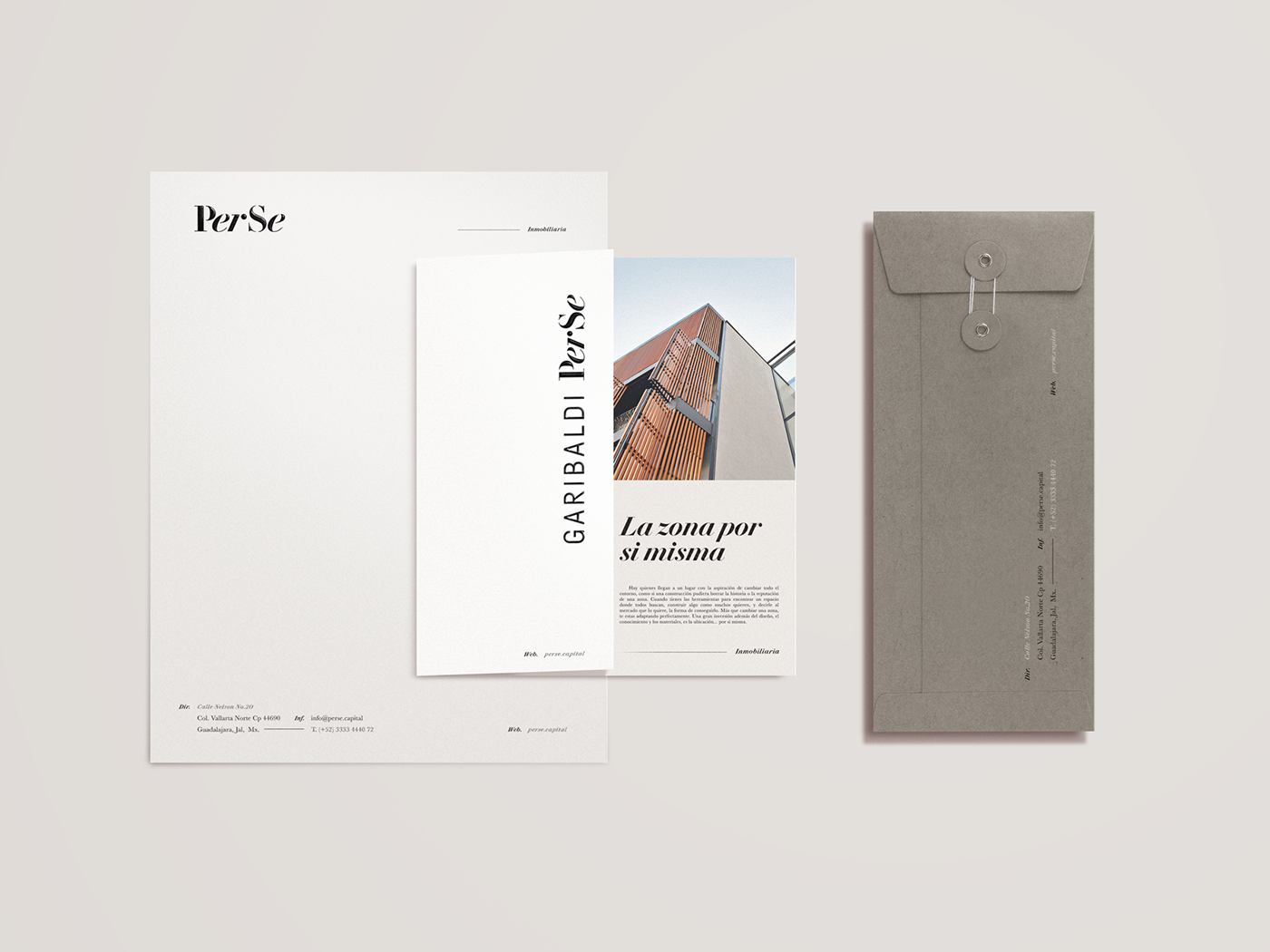 PerSe brand collateral