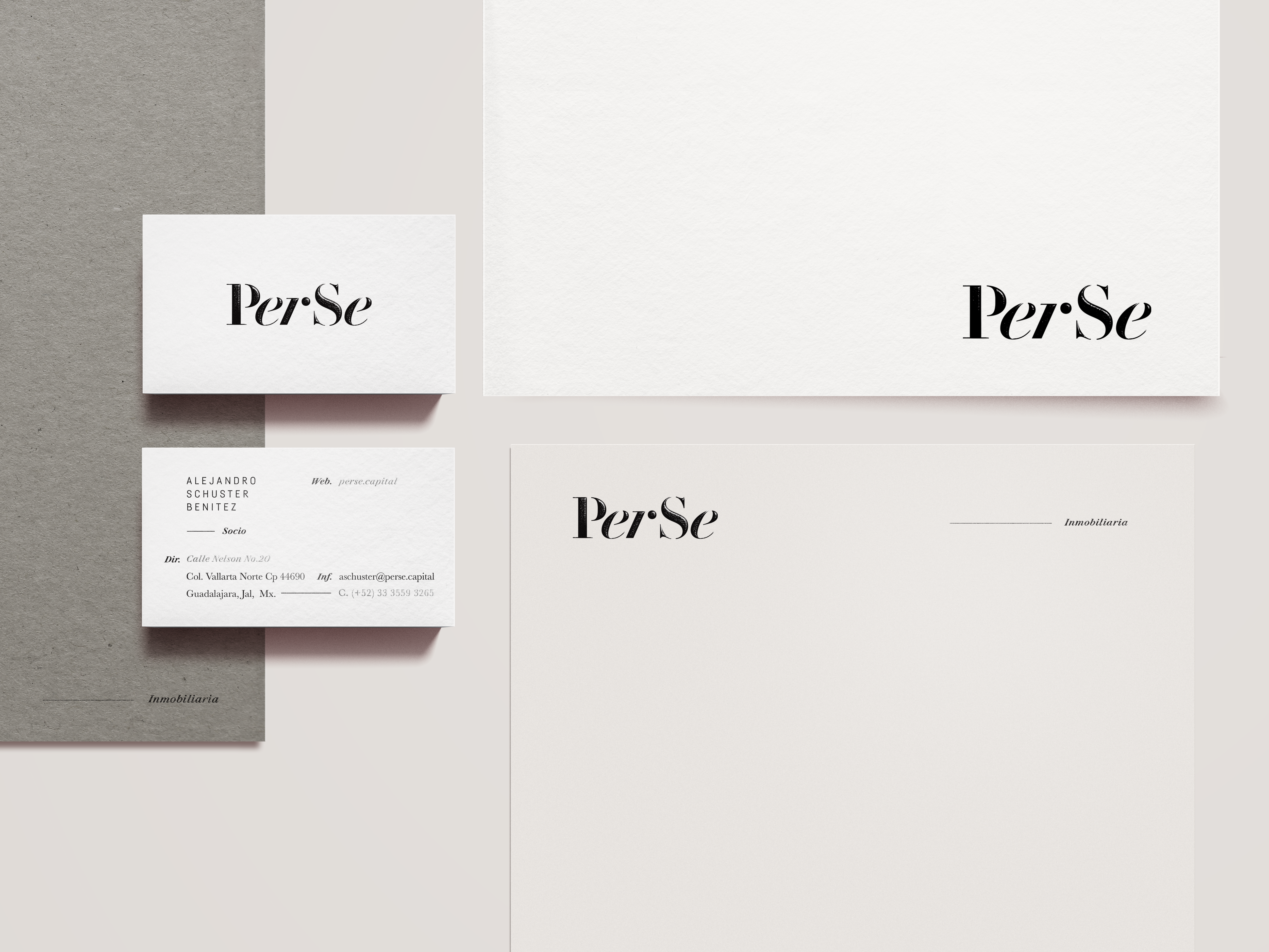 PerSe stationery