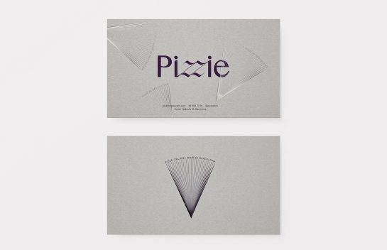Pizzie business cards