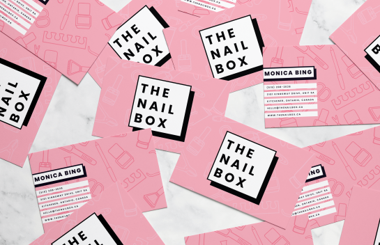The Nail Box Business Cards